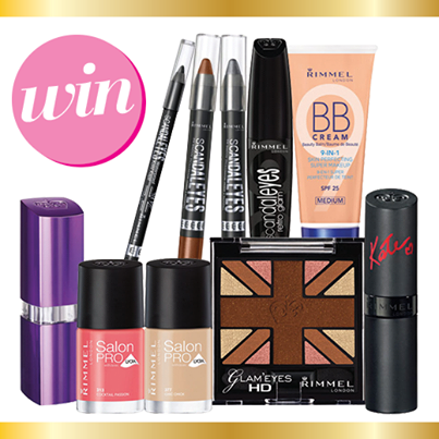 Priceline – Win 1 of 3 Rimmel London prize packs
