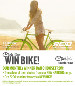 Reid Cycles – Win a bike a month
