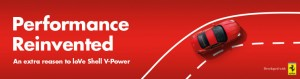 Shell / Coles Express – Win Ferrari Drive Exp + $2,000 travel voucher daily – Purchase V-Power (or 95 in Tas/NT)