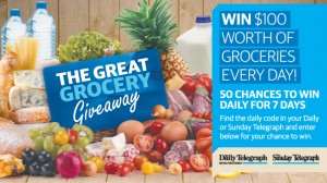 Sun Herald/Daily Telegraph – Win $100 Woolworth grocries vouchers daily