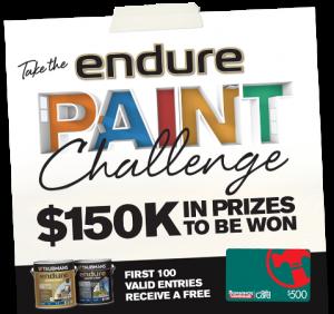 Taubmans endure paint challenge – Win 150K in prizes