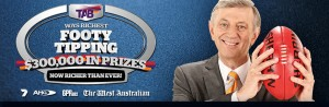 The West Australian – Win Cars  and $75,000 Cash – Footy Tipping Competition