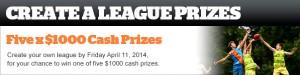 The West Australian – Win $1,000 Cash Random Draw – Create Your Own League To Win