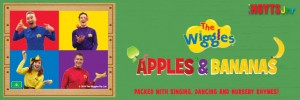 Win 1 of 5 The Wiggles Apples and Bananas Cd and Dvd gift packs