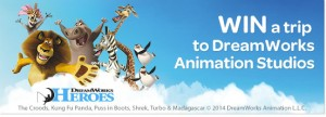Woolworths – Design a Hero – Win a family trip to DreamWorks Animation Studio