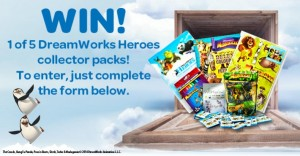 Woolworths – Win 1 of 5 Dreamworks collector heroes packs