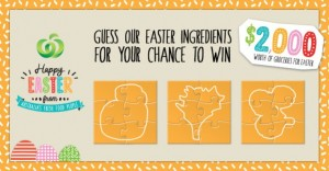 Woolworths – Win $2,000 worth of giftcards giveaway