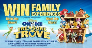 BIG-W – Win tickets to the Disney On Ice presents Treasure Trove show valued at RRP AU$212.50