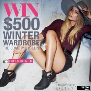 Billini – Win a $500 Winter wardrobe