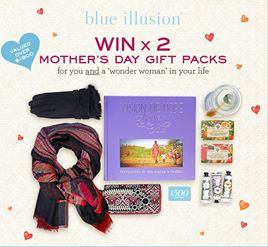 Blue Illusion – Win a Mother's Day gift pack