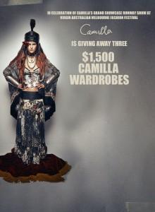 Camilla – Win a $1,500 Camilla voucher