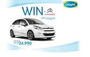 Cetaphil – Win a car – Citroen C3 valued at $24,990