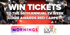 Channel Nine Mornings – Win trip to Melbourne for TV Week Logies Red Carpet