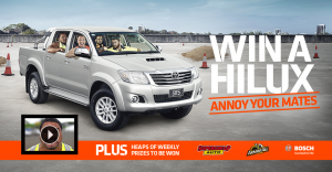 Coates Hire – Hire to Win a Hilux Ute