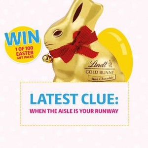 Coles Lindt bunny hunt, win 1/100 Easter gift packs