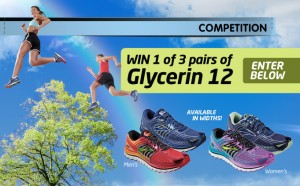 Brooks – Win 1 of 3 pairs of the Glycerin 12