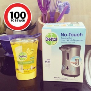 Coles – Win 1 of 100 Dettol No-touch Packs