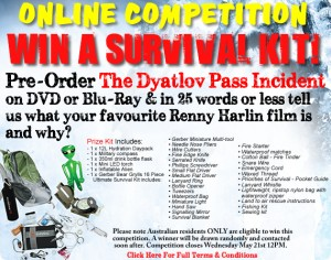 JB HiFi – Pre-Order The Dyatlov Pass Incident to Win Survival Kit