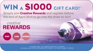Ekersley's – Win A $1,000 Gift Card