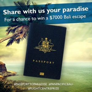 Flight Centre – #PassportToParadise – Win Flight to Bali 2014