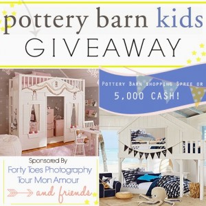 Forty Toes Photography Win Pottery Barn Shop Spree or $5000 Cash