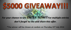 Futureplan Property – Win $5,000 cash giveaway