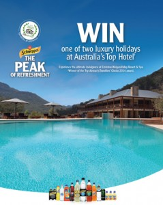 IGA Foodland – Win A Trip To Emirates Wolgan Valley Resort & Spa