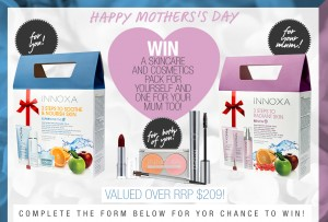 Innoxa – Win 1 of 3 Innoxa Cosmetics Packs valued over $209