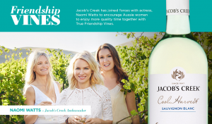 Jacob's Creek – Win trip to Barossa Valley with two friends