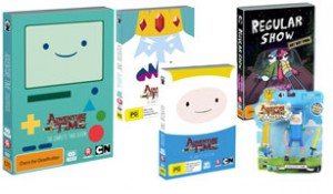 Kzone  – Win 1 of 18 Adventure Time prize packs