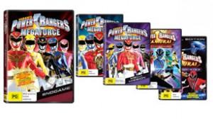 Kzone – Win 1 of 15 Power Rangers prize packs