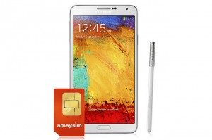 Body+Soul Win a Samsung Galaxy Note 3 + 3-month connection to Amaysim Unlimited