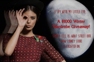 Maiocchi – Win a $1000 Whimsical Winter Wardrobe