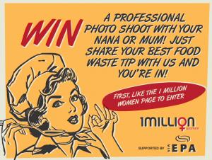 1 Million Women Win a professional photo shoot for you & mum/nana in Sydney