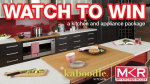 My Kitchen Rules – Win 1 of 3 $20,000 DIY Kitchen and Appliance packs