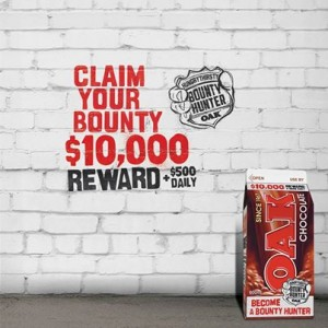 Oak Milk – Win $10,000 plus $500 daily instant win