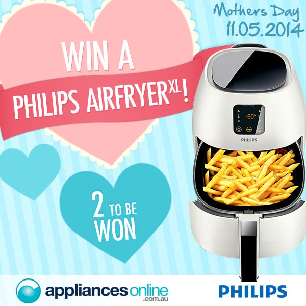 Appliances Online Win 1 of 2 Phillips Airfryers