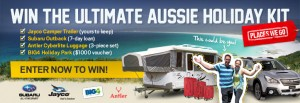 Places We Go – Win the Ultimate Aussie Holiday Kit