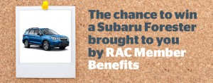 RAC WA Horizons – Win a Suburu Forrester