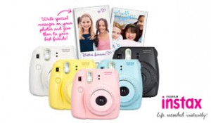 Total Girl – Win 1 of 5 Fujifilm Instax Mini 8 Instant Cameras and film