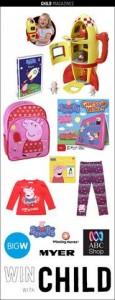 Webchild National – Win 1 of 7 Peppa Pig Goodie Bags