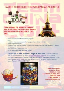 Team China 2014 – Win a Trip to Salon Du Chocolat – Paris Chocolate Show