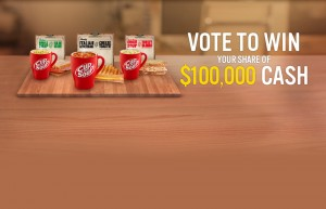 Woolworths – Continental Cup-A-Soup – Win $100,000 Cash