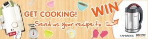 Huggies win 1 of 12 Kambrook Soup Simple Soup Makers