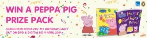 Huggies – Win 1 of 15 PEPPA PIG PRIZE PACKS