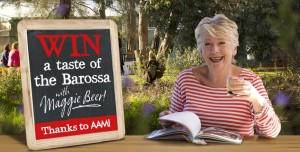 AAMI – Win a Taste of the Barossa With Maggie Beer