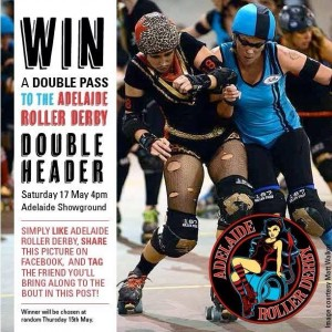 Adelaide Showgrounds – win a DP to the Adelaide Roller Derby