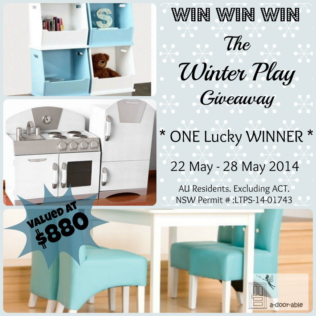 A-door-able – Win a Winter kids play pack