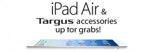 Bagworld – Win an Apple iPad Air 128GB Wi-Fi