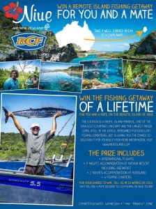 BCF – Win Nuie Island Fishing trip